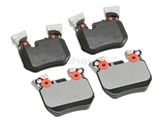 34216797863 Textar Brake Pad Set; Rear; OE Compound