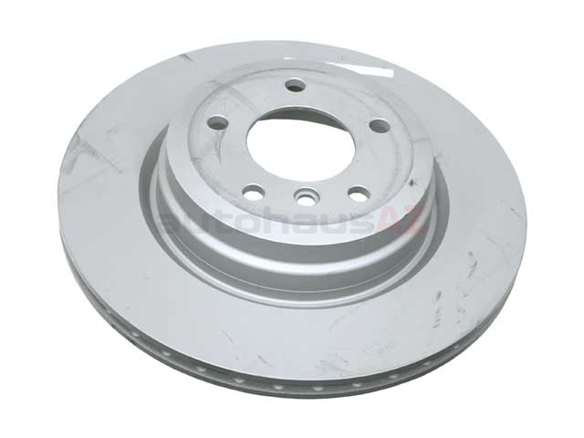 34216855004 Zimmermann Coat Z Disc Brake Rotor; Rear; Vented 336x22mm
