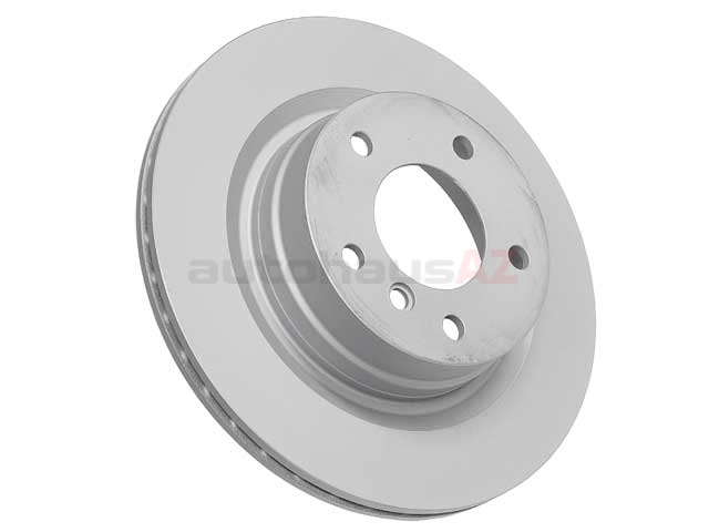 34216855007 Zimmermann Coat Z Disc Brake Rotor; Rear; Vented 300x20mm