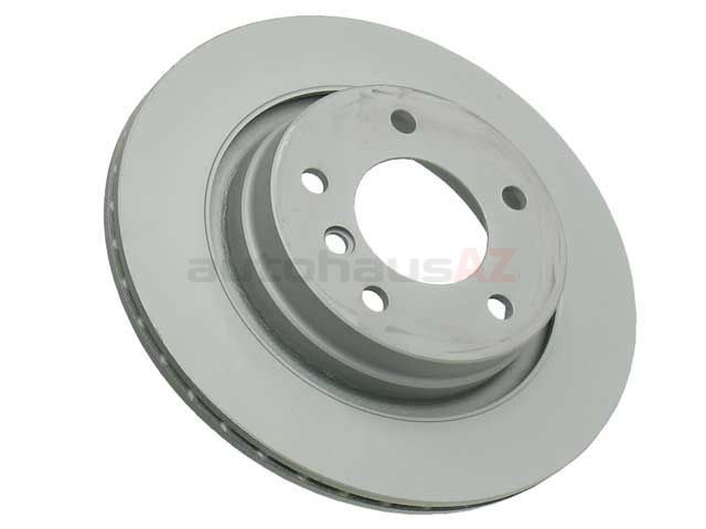34216855154 Zimmermann Coat Z Disc Brake Rotor; Rear; Vented 294x19mm