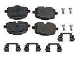 34216857805 Genuine BMW Brake Pad Set; Rear