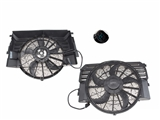 351041301 Mahle Behr A/C Condenser Fan Assembly