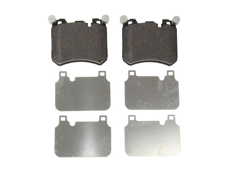 For BMW E70 E71 X5 X6 xDrive50i Front Brake Pad Set /& Front Sensor Brembo//Pagid