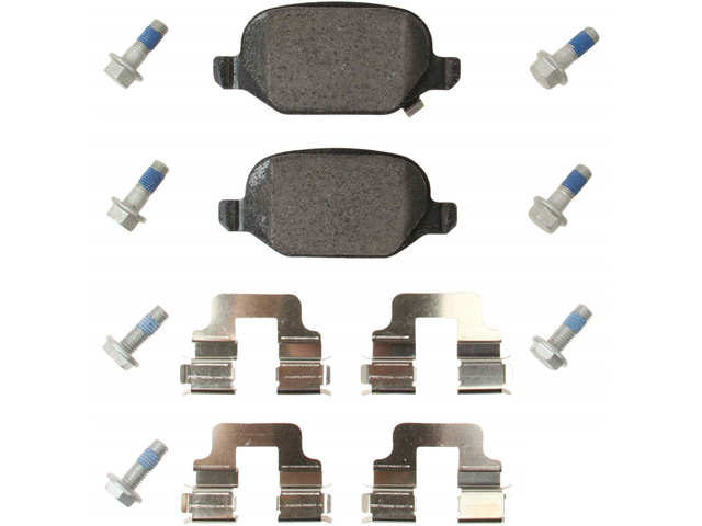 355020751 Pagid Brake Pad Set; Rear