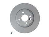 355113752 Pagid Disc Brake Rotor; Front