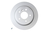 355117832 Pagid Disc Brake Rotor; Rear