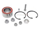 357498625B FAG Wheel Bearing Kit; Front; 72mm Diameter