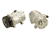 357820803R Behr AC Compressor; Complete with Clutch