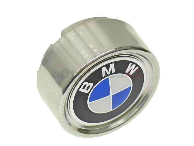 36131114180 Genuine BMW Wheel Center Cap/Emblem; For Stock 6x14 Wheel