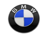 36131181079 Genuine BMW Wheel Center Cap/Emblem; Emblem for Wheel Center; 70mm Diameter(2-3/4 inch) ; Adhesive Back