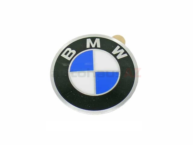 36131181082 Genuine BMW Wheel Center Cap/Emblem; 45mm Diameter Emblem