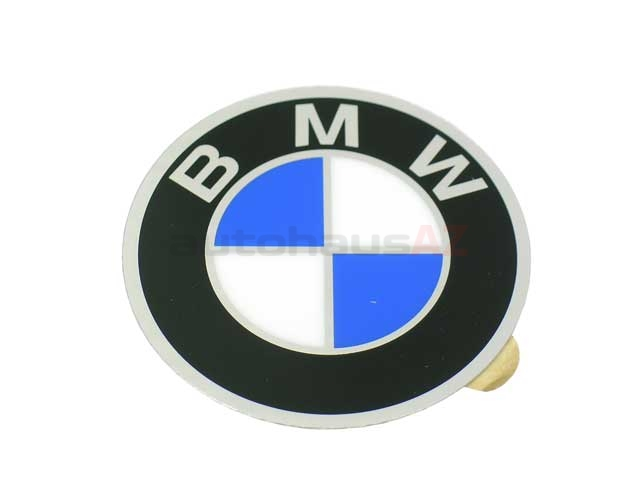 36131181106 Genuine BMW Wheel Center Cap/Emblem; Center Cap Emblem; 57mm