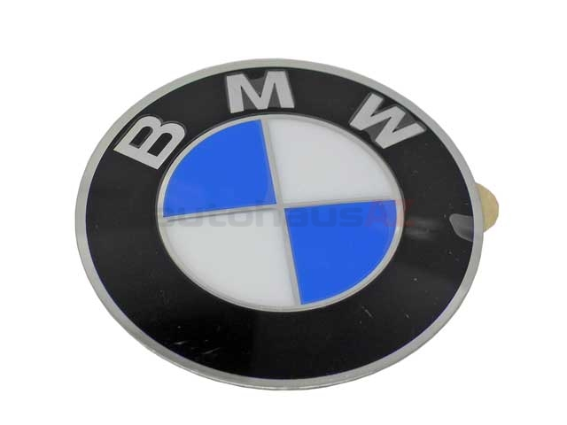 36136767550 Genuine BMW Wheel Center Cap/Emblem; Emblem for Wheel Center; 64.5mm Diameter(2-1/2 inch) ; Adhesive Back