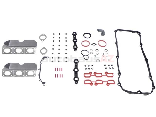 366530 ElringKlinger Cylinder Head Gasket Set; Upper Gasket Set Without Head Gasket