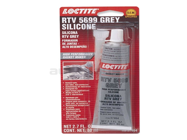 37464 Loctite Sealant; RTV 5699 Grey High Performance Silicone; 80 ml Tube