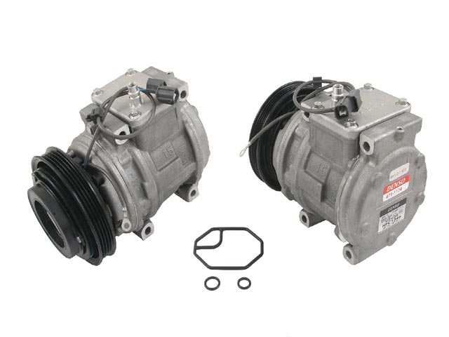 38810P9KE01 Denso AC Compressor; New; w/ Clutch