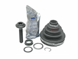 3B0498203A GKN Loebro CV Joint Boot Kit; Front Outer