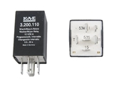 3B0955531 Kaehler (KAE) Intermittent/Pulse Wiper Relay; 6 Prong; Variable Type