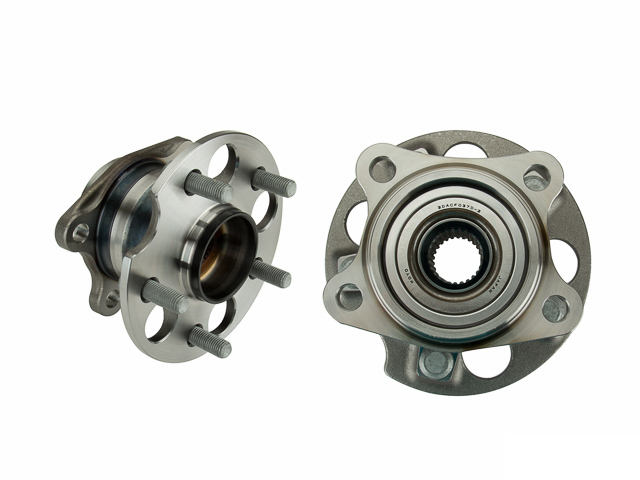 3DACF037D2C Koyo Axle Bearing and Hub Assembly; Rear