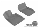 3DM-L1BM00612201 3D MAXpider Floor Mat Set; Gray; Durable Looped Poly Carpet; Front
