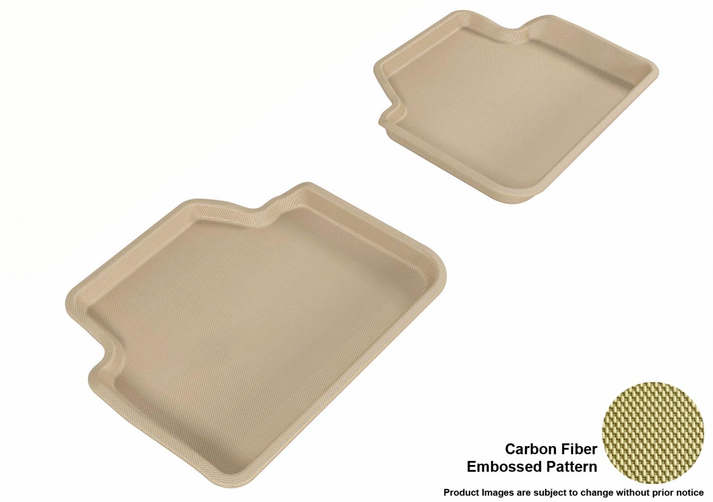 3d Maxpider L1bm00621502 Floor Mat Set Tan Carbon Fiber