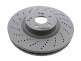 400366020 Zimmermann Coat Z Disc Brake Rotor; Vented, Cross-Drilled; 360 x 36mm