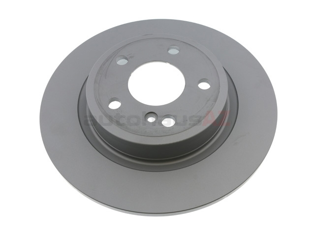 400369120 Zimmermann Coat Z Disc Brake Rotor; Rear