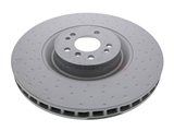 400369620 Zimmermann Coat Z Disc Brake Rotor; Front