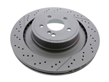 400550420 Zimmermann Coat Z Disc Brake Rotor; Rear