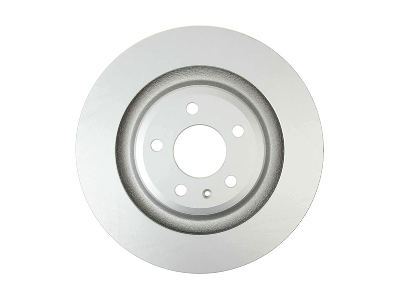 40254165 OPparts Platinum Disc Brake Rotor; Rear