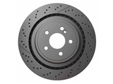 40433211 Meyle Disc Brake Rotor; Rear