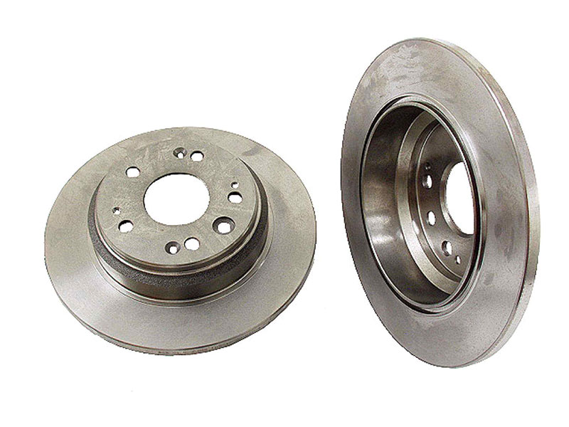40501006 OPparts Disc Brake Rotor; Rear