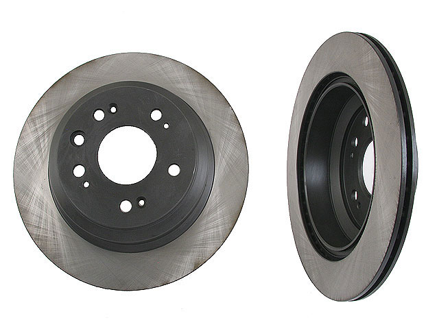 40501011 OPparts Disc Brake Rotor; Rear