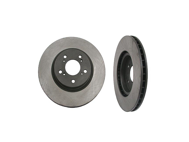 40501012 OPparts Disc Brake Rotor; Front
