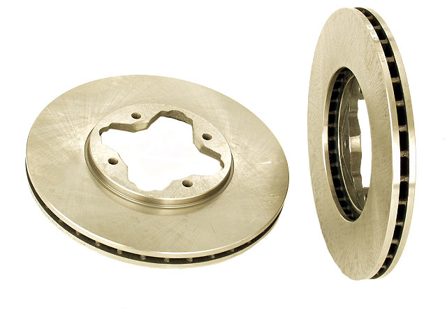 40501022 OPparts Disc Brake Rotor; Front