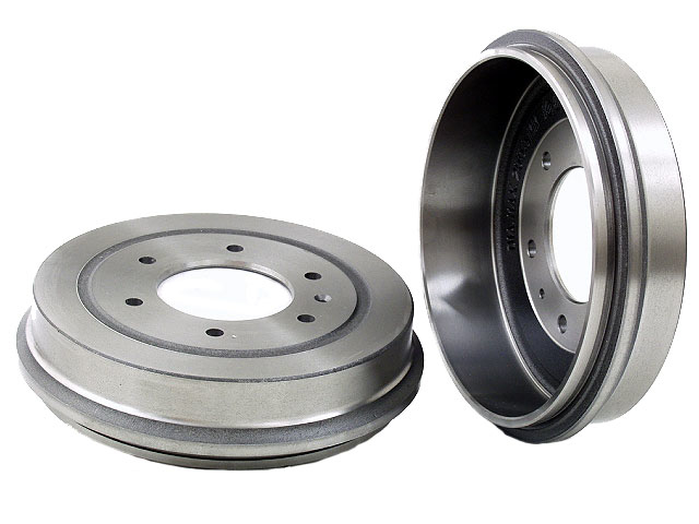40525022 OPparts Brake Drum; Rear