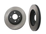 40546034 OPparts Disc Brake Rotor; Vented