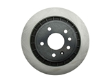 40546050 OPparts Disc Brake Rotor; Rear