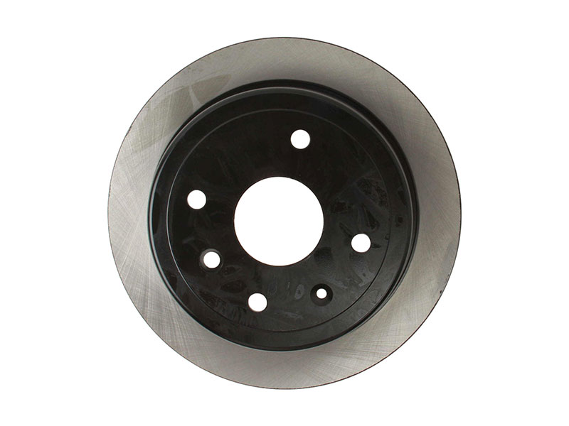 40550029 OPparts Disc Brake Rotor; Rear