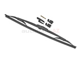 40715 Bosch Wiper Blade Assembly; MicroEdge; 15 Inch Length
