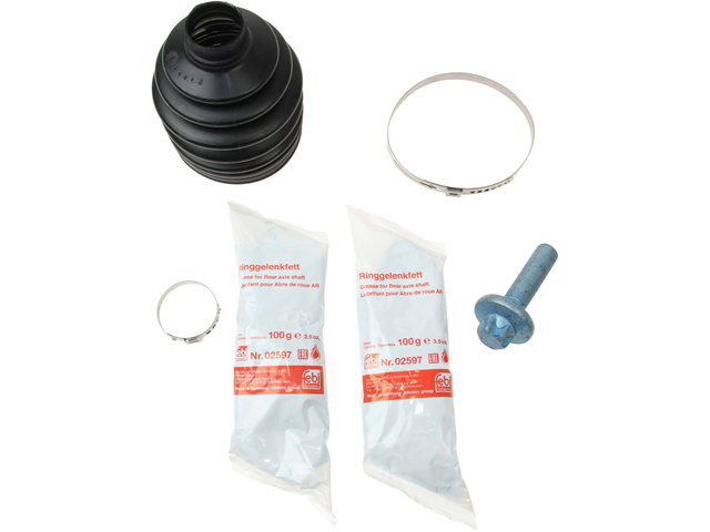 43449 Febi CV Joint Boot Kit; Front Outer