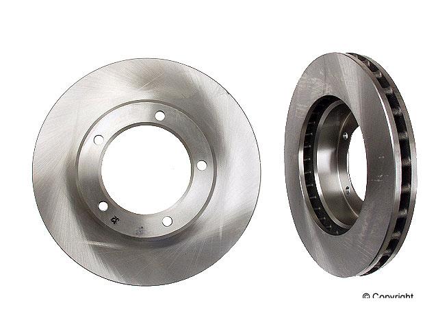 2 Rear Disc Brake Rotor OPparts 40551218 for Lexus LX470 Toyota Land Cruiser
