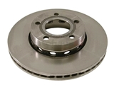 441615301A Zimmermann Disc Brake Rotor; Front ; Vented 276x25mm/5 Lug
