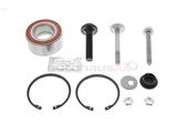 443498625F FAG Wheel Bearing Kit; Rear; 82mm OD 43/45mm ID