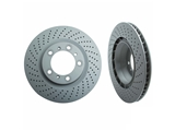 460157820 Zimmermann Coat Z Disc Brake Rotor; Directional Rear Left