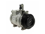4711115 Denso AC Compressor; New; w/ Clutch