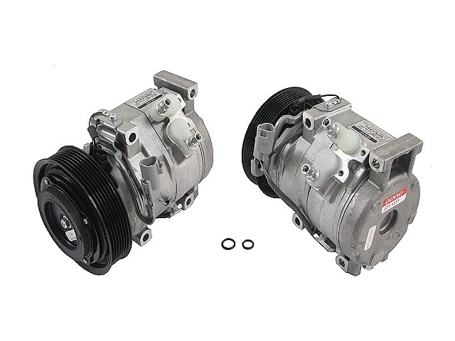 4711371 Denso AC Compressor; New; w/ Clutch