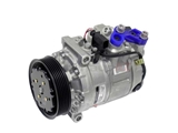 4711514 Denso AC Compressor; New; w/ Clutch