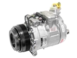 4711528 Denso AC Compressor; New; w/ Clutch