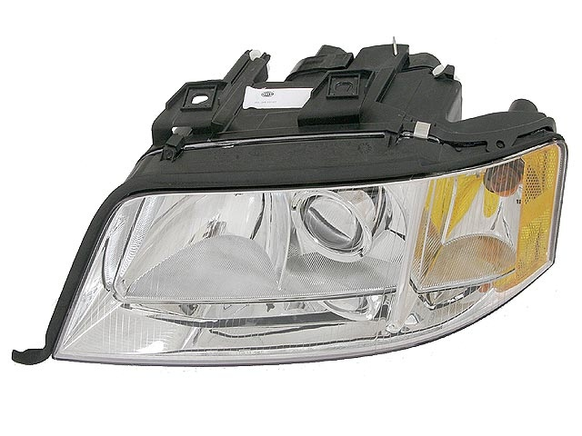 4B0941003AT Hella Headlight; Left Assembly; Xenon